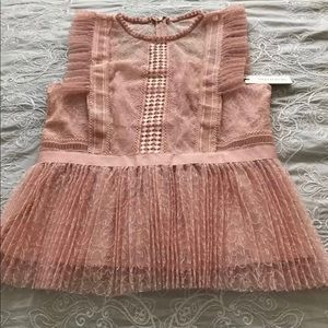 NWT Heartloom Blouse Size M